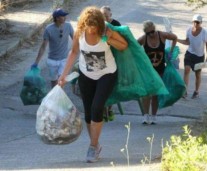 Экологичный фитнес-тренд (8 фото)