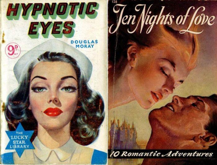 Красавицы на обложках журналов в 40-60е года (30 фото)