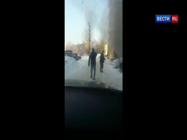 «Жаркая» потасовка в Новосибирске