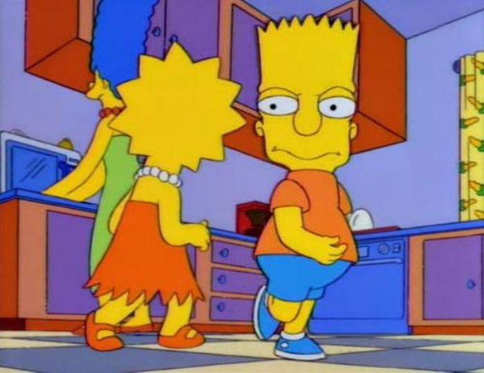 Симпсоны: ужасный и еще ужаснее (12 фото)