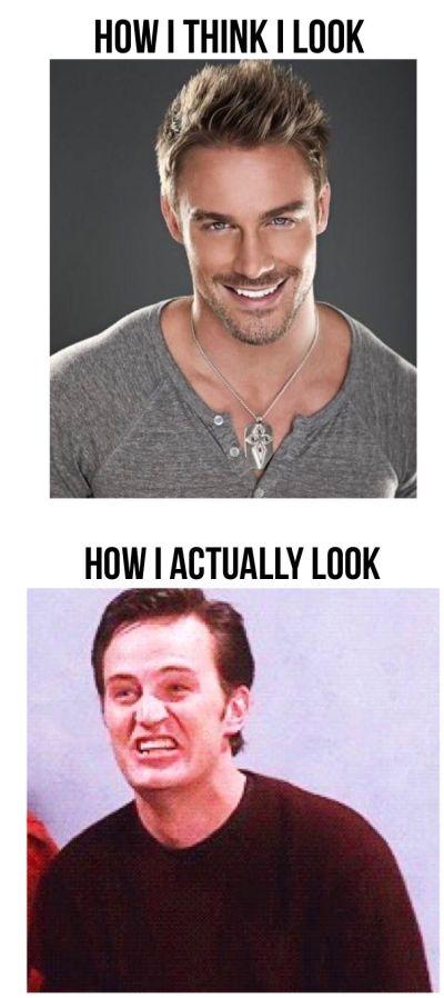 Как я себя вижу и как я выгляжу на самом деле (9 фото)