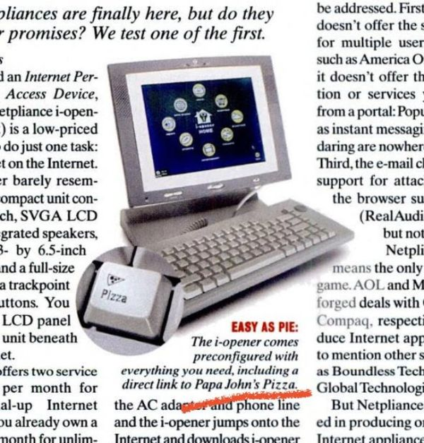 Горячие клавиши 2001 года (4 фото)