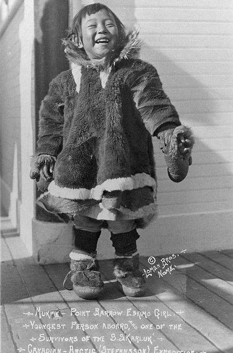 Фотоотчет из 1900-х гг. - эскимосы Аляски (35 фото)