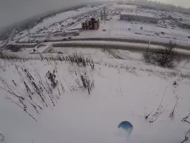 Смертельно опасный сноубординг