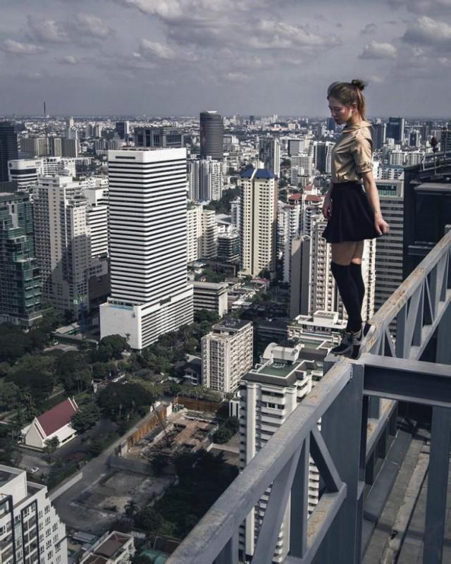 В экстремальном режиме: селфи Ангелины Николау (18 фото)