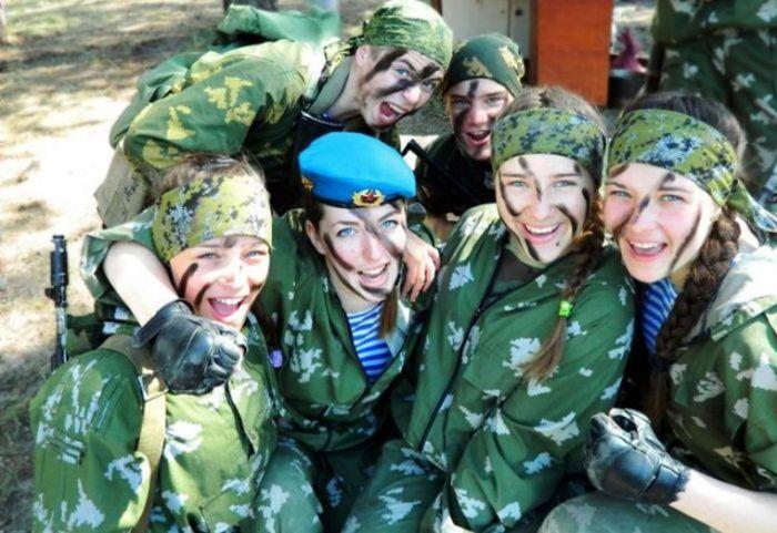 ВДВ – служба для настоящих женщин (35 фото)
