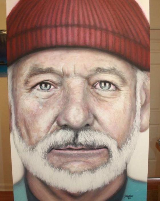 Мастер портретов – художник Дэвид Гризл (22 фото)