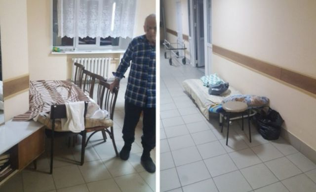В Пермском крае в лечебнице не хватило койки для пациента (4 фото)