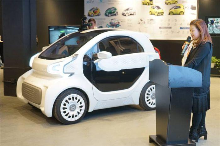 Китайцы спроектировали первый 3D-электромобиль для массового производства   (9 фото)