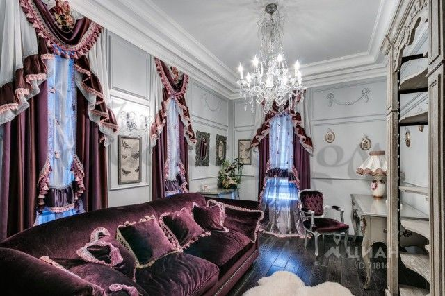 Скромное московское жилище за 55 миллионов (10 фото)