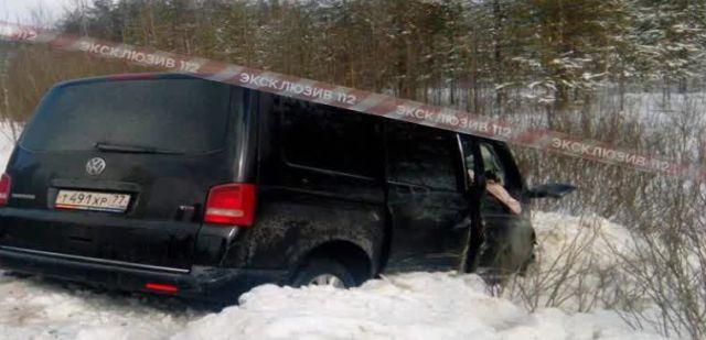 Музыканты группы «Пикник» попали в аварию под Владимиром (4 фото)