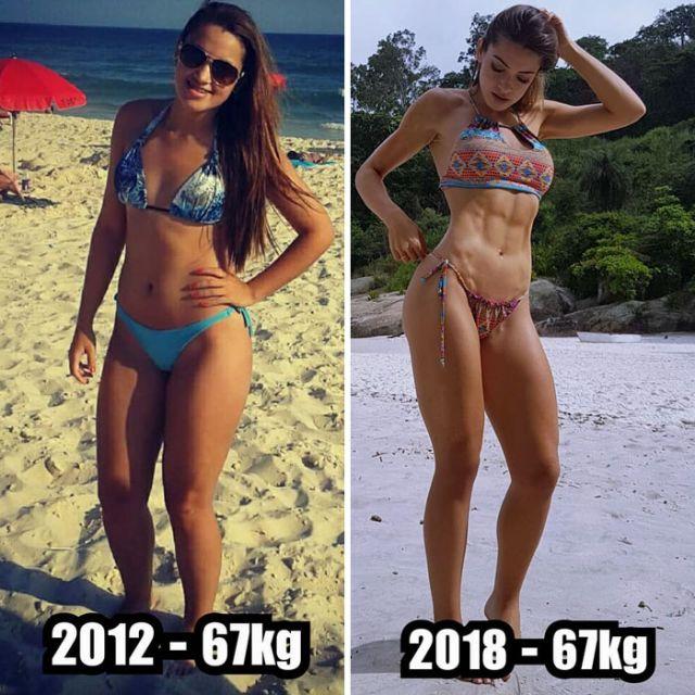 Вес - это всего лишь цифры (19 фото)