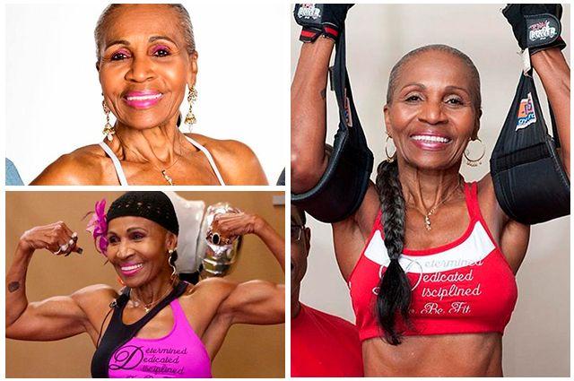Самые возрастные фитнес-блогеры, которые выглядят гораздо моложе своих лет (23 фото)