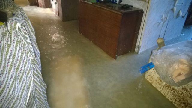 Дом пенсионера из Пермского края превратился в каток (6 фото)