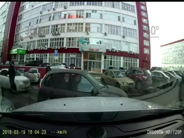 Оперативное ограбление пассажиров автомобиля