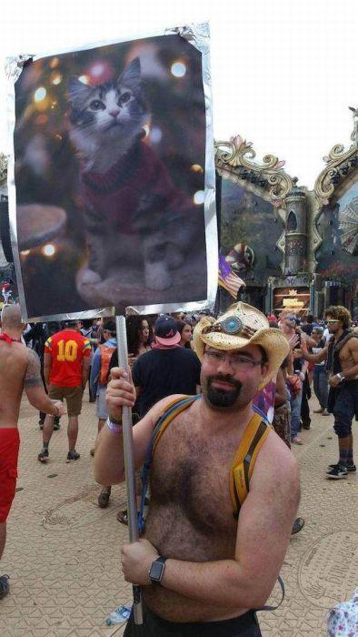 Забавные фото с музыкальных фестивалей (40 фото)