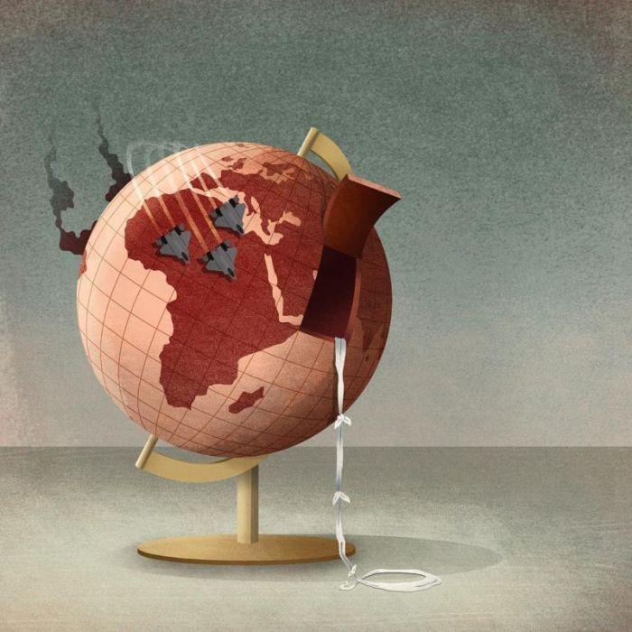 Реалии современного мира глазами Сары Джирони (23 фото)