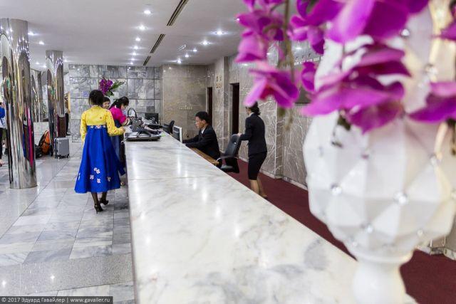 Северокорейская гостиница Янгакто (37 фото)