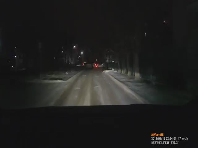 Автомобилист оказался чертовки прав