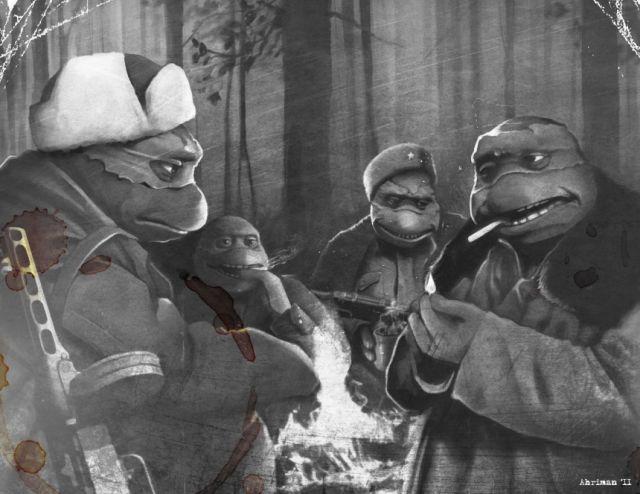 Культовые советские и зарубежные фильмы в стиле аниме (10 рисунков)