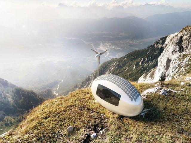 Ecocapsule - полностью автономное эко-жилье (8 фото)