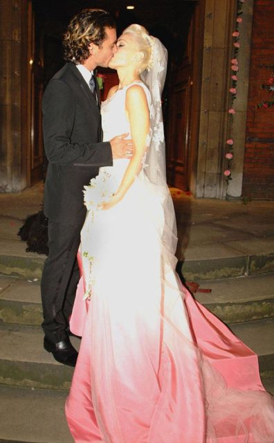 Свадебные фото звезд (17 фото)