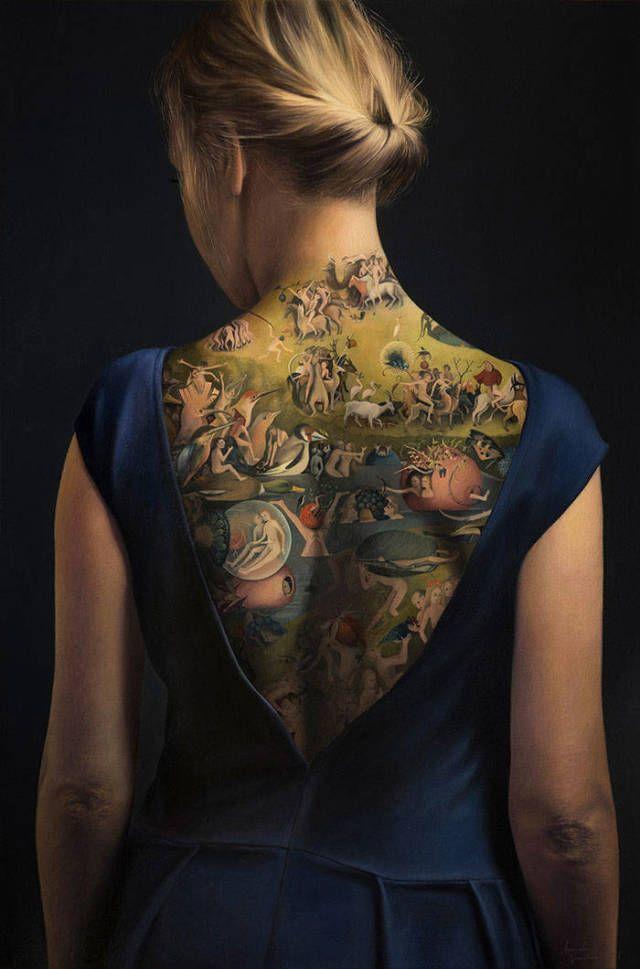Это вовсе не татуировка (5 фото)