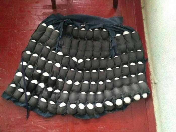 Куртка бывшего сторожа птицефабрики (2 фото)