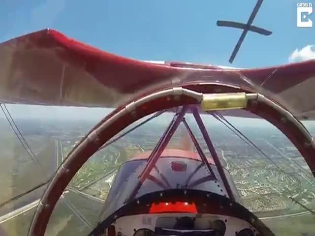 Пилот справился с нештатной ситуацией