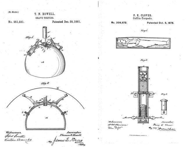 Огнестрельные средства защиты могил (3 фото)