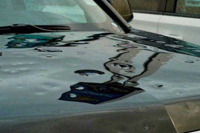 В Алабаме град повредил 380 новых Автомобилей (24 фото + видео)
