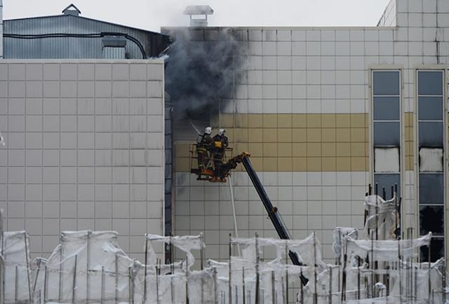 Очевидцы о пожаре в кемеровском ТЦ