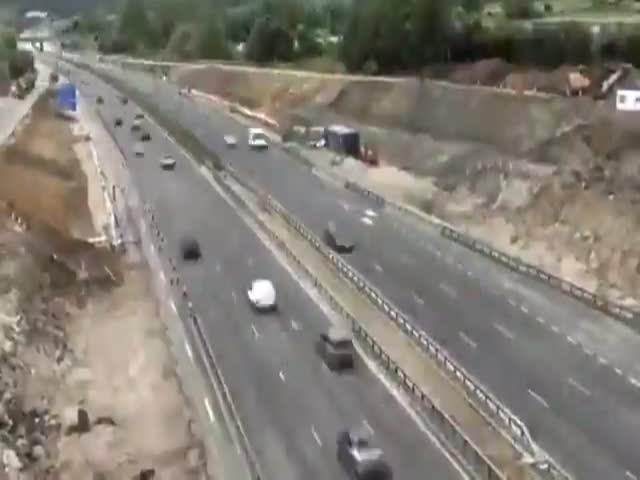Быстрый демонтаж моста