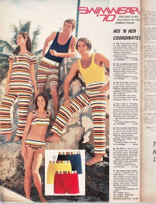 Мода 60-х - 70-х годов XX века (25 фото)