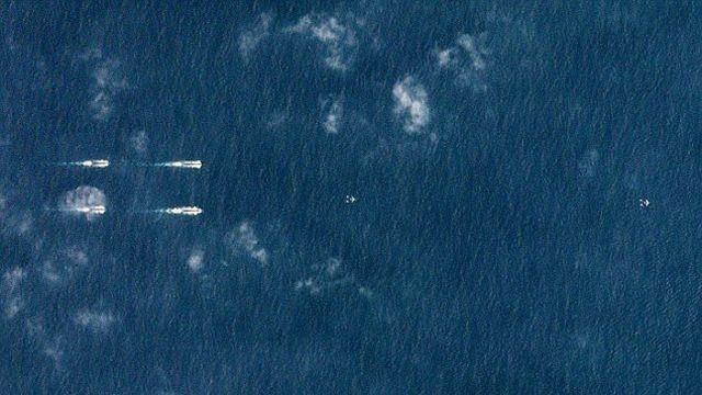 ВМС Китая на учениях в Южно-Китайском море (4 фото)