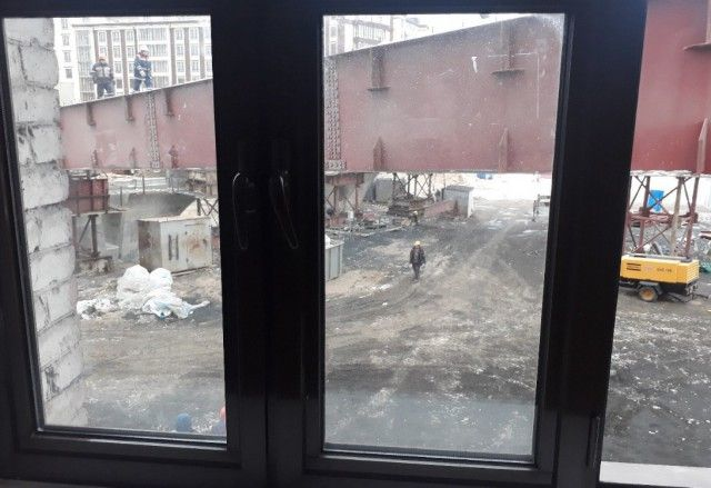 Как в Санкт-Петербурге строят мост на пересечении Петровского проспекта и Ремесленной улицы (5 фото)