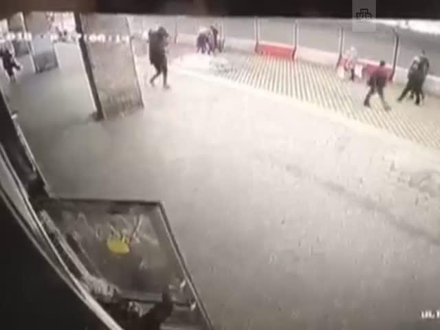 Вооруженное ограбление банка в Москве