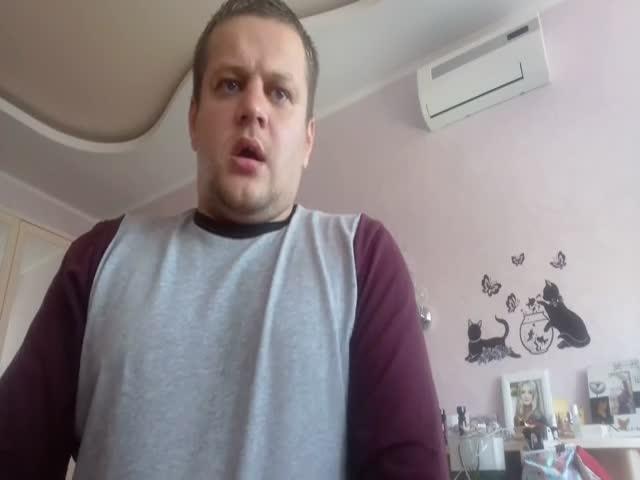 Видеообращение жителя Кемерова Игоря Вострикова