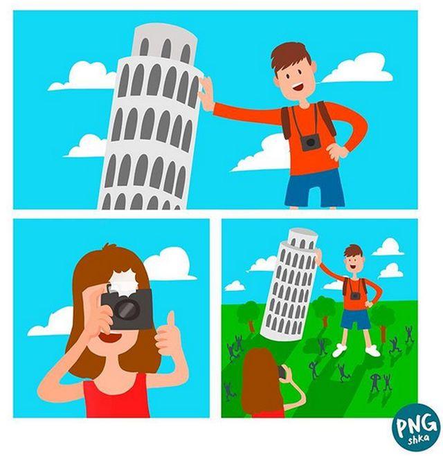 Жизненные комиксы с долей абсурда (24 картинки)