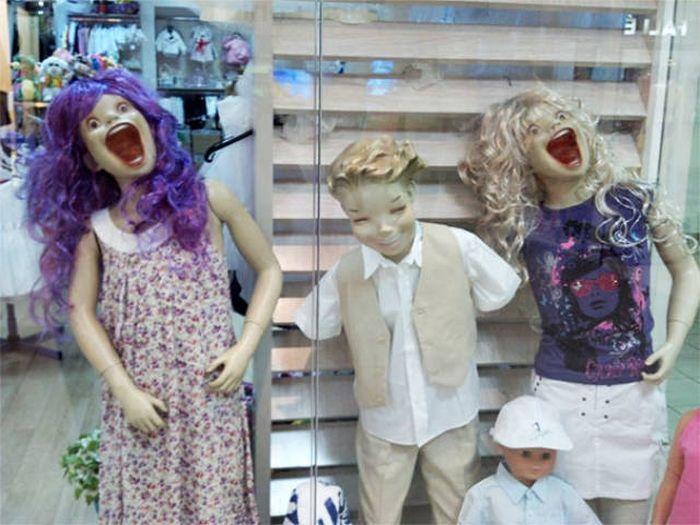 Забавные манекены (31 фото)