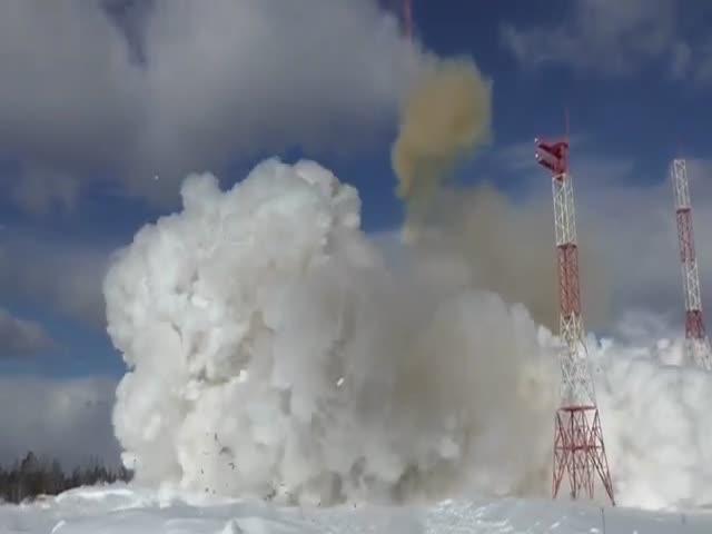 Испытания ракеты баллистической ракеты «Сармат»
