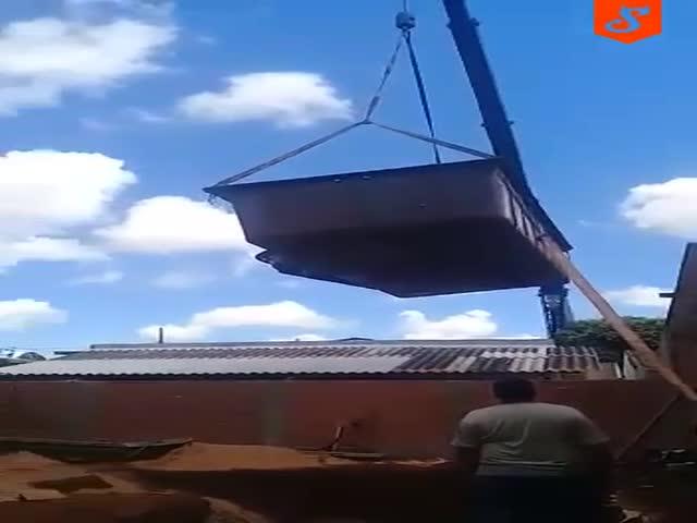 Установка бассейна пошла не по плану