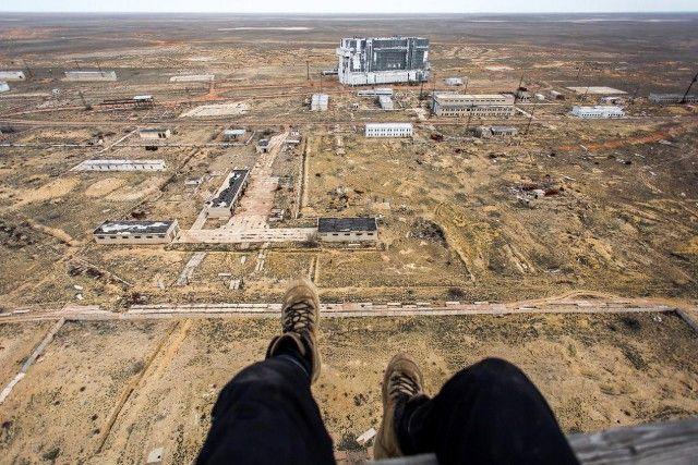Фотоотчет диггеров с космодрома Байконур (39 фото)