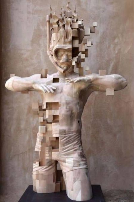 Великолепные скульптуры из дерева (39 фото)