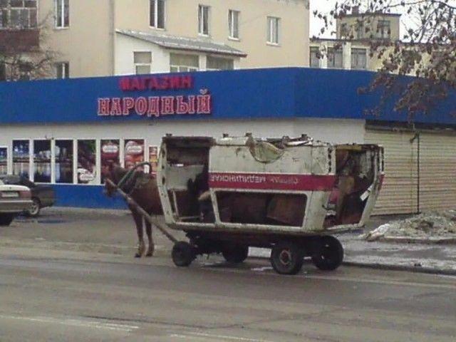 Странные и забавные фото из России (32 фото)