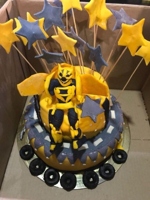 Детский торт: ожидание и реальность (2 фото)
