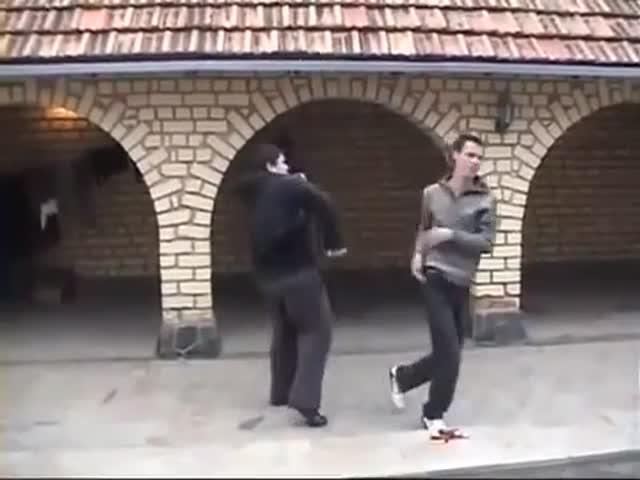 Странный вид боевого искусства