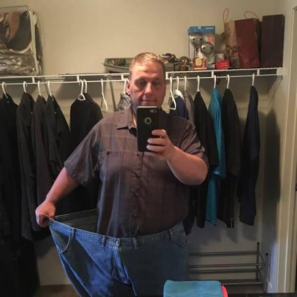 Канадец похудел на 148 кг из-за чувства стыда (13 фото)