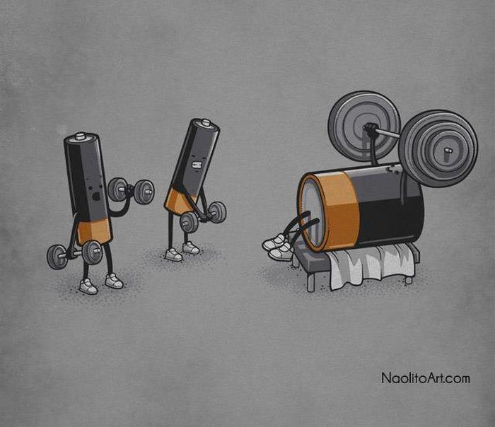 Саркастичные иллюстрации художника Начо Диаса (26 картинок)