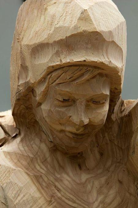 Скульптура из дерева (8 фото)